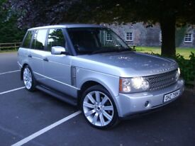 """LAND ROVER RANGE ROVER TD6 """" VOUGE """" 22"""" ALLOYS """" BMW X5 AUDI Q7 MERCEDES ML SPORT DISCOVERY XC90"""