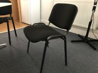BLACK OFFICE/DINING CHAIRS