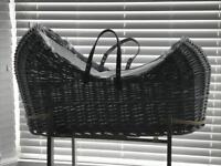 New Moses basket and stand