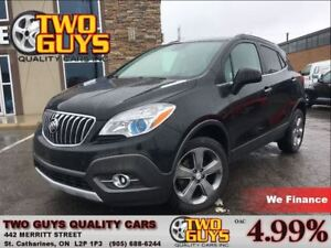 2013 Buick Encore Convenience AWD BIG MAGS  LEATHER & CLOTH INTE