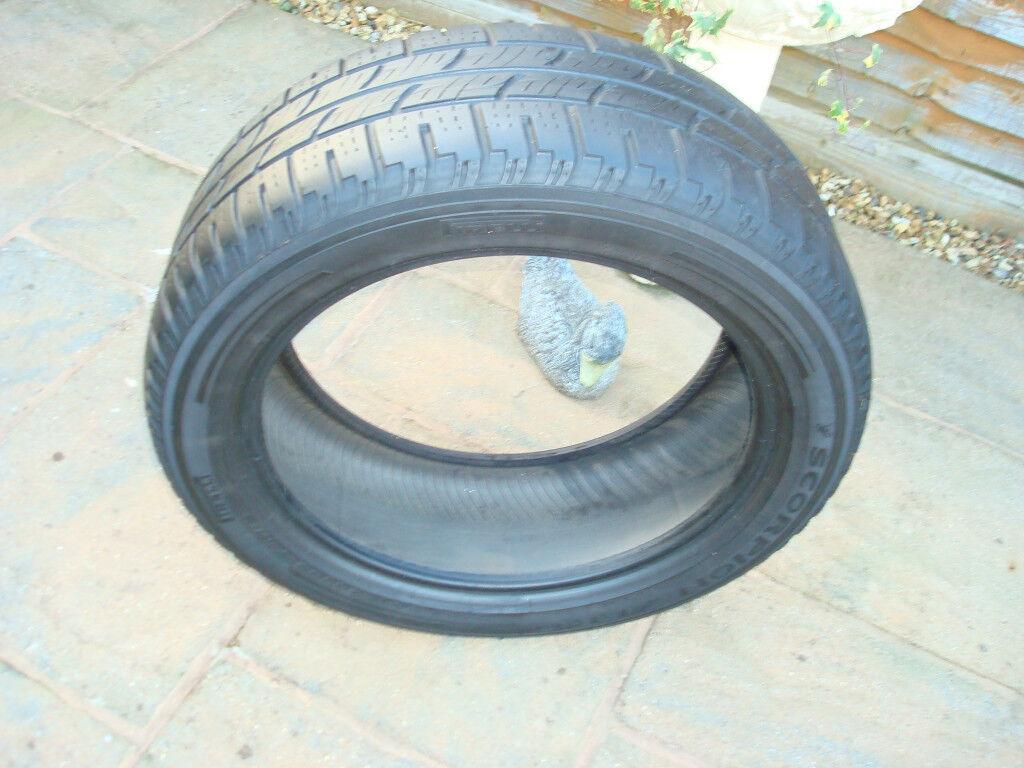 Pirelli Scorpion Zero 255x50x20R 109y M&S tyre