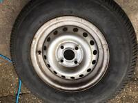 Caravan spare wheel 175 r13c 4stud