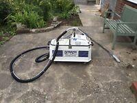 Extracta carpet cleaning machine