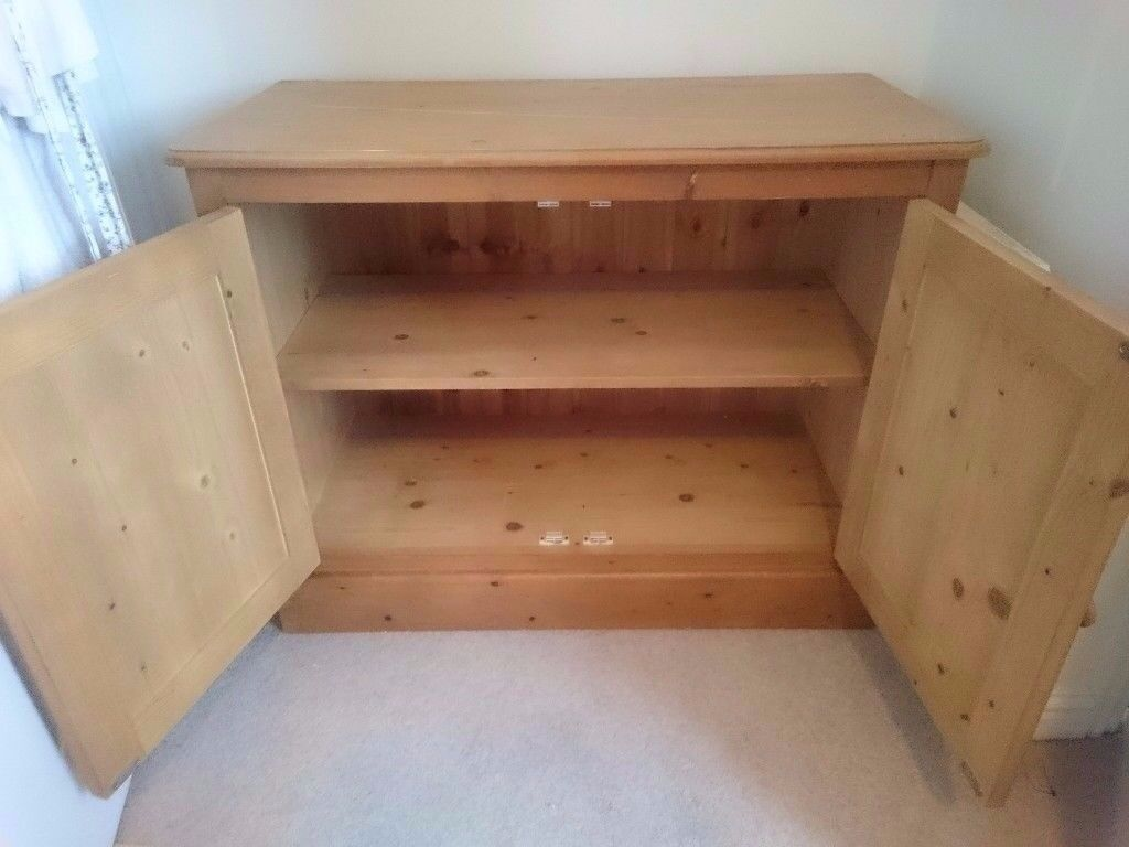 Solid Wooden Cupboard