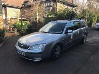 FORD MONDEO ZETEC ESTATE 2005 DRIVES GOOD SILVER 1.8 MOTD