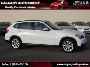 2014 BMW X1 xDrive28i ALL WHEEL DRIVE/LEATHER/MUST SEE