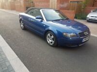2004 AUDI A4 SE CABRIOLET AUTOMATIC PETROL