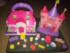 Hello Kitty house and castle