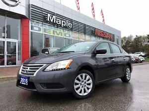 2015 Nissan Sentra 1.8 Auto-A/C,1.9% Financing available, Low Mi