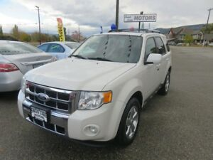 2010 Ford Escape Limited - Heated leather seats, sunroof