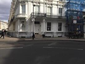 One studio flat to let in Central London, from 1st April