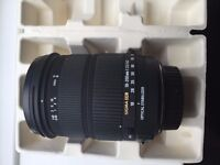 Sigma lens - Canon fit