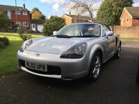 Toyota MR2 vvti 1.8 Convertible 2002 Air Con Hard top 86762 miles