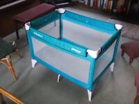 Graco travel cot - excellent condition (just used for odd trips to grandparents or holidays)