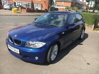 BMW 1 series 118D M sport Diesel 5 doors 30 tAx