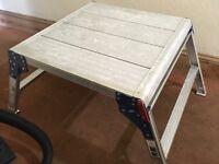 Square Hop-Up Work Platform Aluminium 600mmX600mm