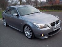 2008 58 BMW 525d M Sport, Auto, LCI Facelift,*TOP SPEC* FULL LEATHER+SAT NAV, FSH