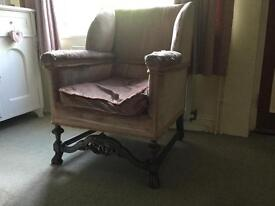Gorgeous Vintage French Chair