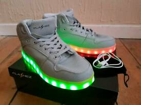 Flashez Unisex LED trainers UK size 9