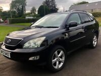 Lovely 2005 Lexus RX300 Black, Full years MOT ML320 X5