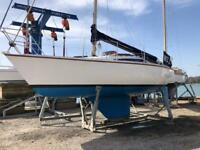 """Nor-west 25' """"Welly"""" 1/4 tonner, 4 berth sailing yacht, nice condition, lots of money spent"""