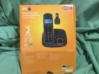 BT HOME PHONE with Answering Machine, CONCERO 1400, contains two phones, only one socket required.