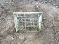 2ft hang on hay feeder rack for sheep horse calf's etc farm livestock tractor