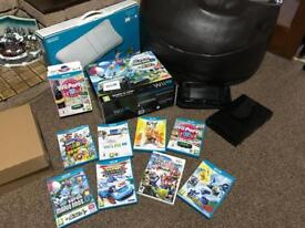 Wii U and Wii U fit and games