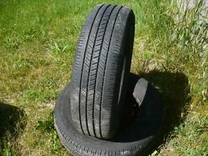 Two 215-70-15 tires $50.00