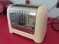 Cream & Chrome Dualit 2 Slice Toaster