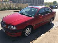 """🚘""""TOYOTA,AVENSIS,GLS,AUTOMATIC,1998,4DR,SALOON,126BHP,RED""""🚘"""
