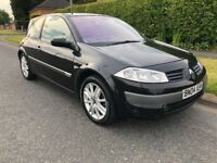 Renault Megane cheap car. Long mot until April 2019