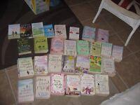 JOB LOT OF 30 BOOKS CATHERINE ALLIOT / MARIAN KEYS /SHEILA FLANAGAN ETC.