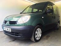 2007   Renault Kango 1.2 Authentique  Manual  Petrol   WHEELCHAIR ACCESS  Disability