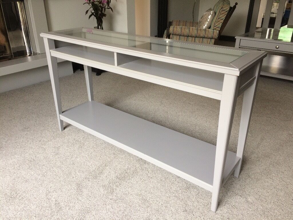 liatorp console table from ikea good as new in horsforth west yorkshire gumtree. Black Bedroom Furniture Sets. Home Design Ideas