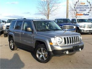 2016 Jeep Patriot *NAVI*4X4*SUNROOF*LEATHER*ALLOYS*HEATED FRONT