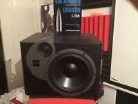 Acoustic Energy passive studio monitors 200watts