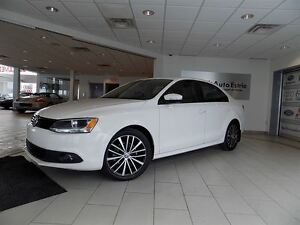 2013 Volkswagen Jetta 2.5L Sportline, Cuir, Toit Ouvrant, Automa
