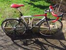 Carbon road bike with full and brand new 11 speed Shimano 105 group set and Swisside Franc wheel set