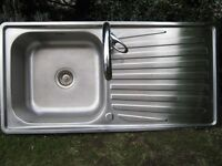 Stainless Steel Kitchen Sink with FREE Mixer Tap