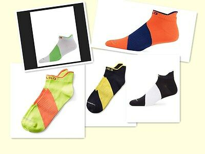 (Polo Sport Ralph Lauren Performance Low Cut Sporty Ankle Socks Men's  )