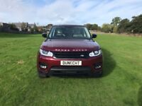 Land Rover Range Rover Sport SDV6 HSE DYNAMIC (red) 2016-03-17