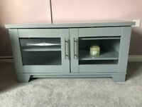 Upcycled tv unit
