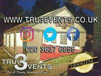 Marquee & Gazebo Hire from £70 **10% OFF NOW**