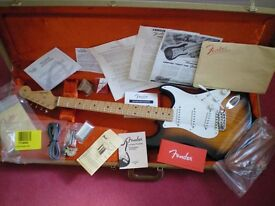 Fender American Limited Edition 60th Anniversary 1954 Reissue Stratocaster, all strat case candy.