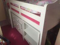 Next girls cabin bed no mattress
