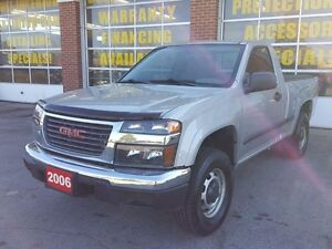 2006 GMC Canyon SL,Regular cab,4X4