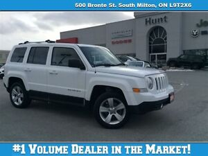 2014 Jeep Patriot LIMITED, SUN, LEATHER, BT & MORE!!!