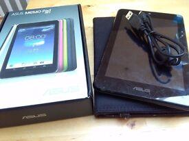 ASUS Memo Pad HD 7 Blue (It comes with case, USB cable & original box)