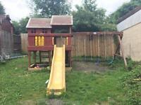 Kids swing/playhouse